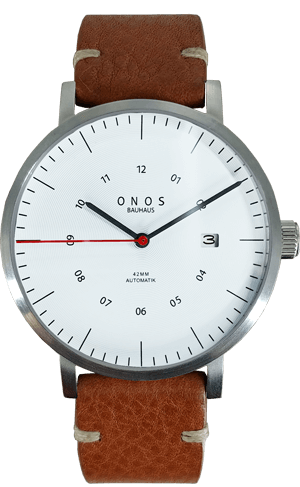 Weiße ONOS Uhr