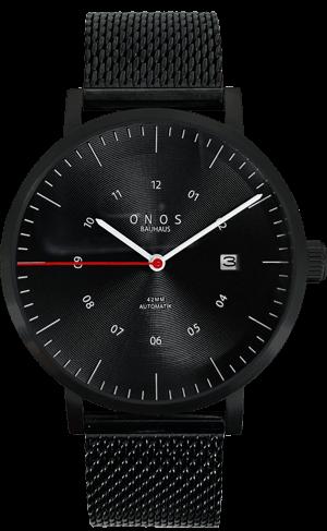 Schwarze ONOS Uhr